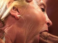 This licentious granny Annabelle Brady has the extreme passion be incumbent on the hard fuck. Just look how hungrily she is beading her mouth and then pussy on the younger fat load of shit