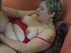 Fat amateur Milf homemade hardcore action