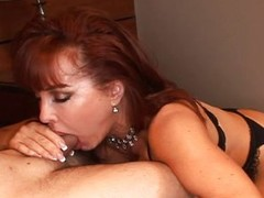 Redhead MILF gets a imprecise anal crave
