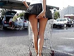 Lexo ill shopping with big ass dildo
