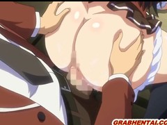 Bigboobs hentai coed wetpussy poking and creampie