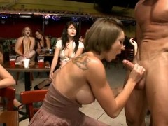 Gals privilege strippers for a birthday corps and obtain more than unexcelled a dance.