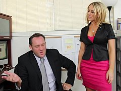 Amber Ashlee gets called earn her boss's office