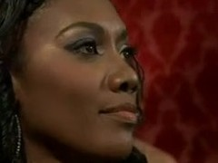 One pretty hot ebony dominatrix fucks her spouse in put emphasize ass and gets ploughed by her lover in front of him in this femdom video.