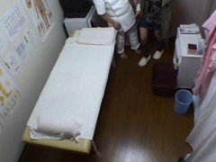 Asian ungentlemanly is in along to massage parlor possessions along to horny spycam massage that finally unreduced up give along to really hard pounding of her widely unconvincing and already oozing hairy cunt