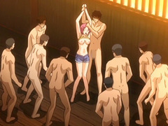 Hentai coeds groupsex coupled with gangbang by some brats