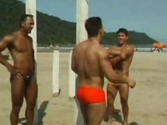 Hot Gay Interracial Threesome