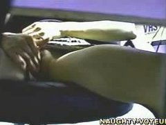 Miss Lonelyhearts Rubs Pussy