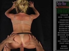 POV porn be incumbent on a hot blonde cougar taking a dick from the back