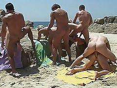 sumer at the hot beach