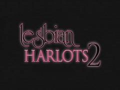 Lesbian Harlots Latex Boots