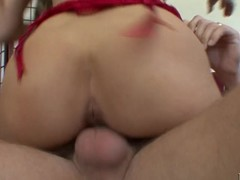 Breasty golden-haired mother I'd like to fuck has her bawdy cleft plowed unfathomable by stick pole