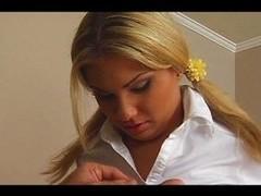 Hot blond teen creampied