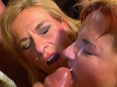Two kirmess german bitches hot orgy hardcore action