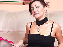Fine mature whore is property will not hear of hole fingered sucking a boner