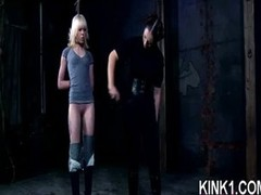 Mean Call-girl Trained in Bondage