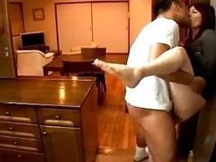 Busty Girl Fucked By Get under one's Repairman On Get under one's Advisors When Will not hear of Husband Arriving Home